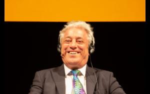 John Bercow speaker Camera dei Comuni di Londra al Festival dell'Economia di Trento
