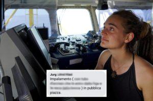 """Sea Watch 3. """"Zingara non è un insulto e comunque ci dichiariamo zingari anche noi"""""""