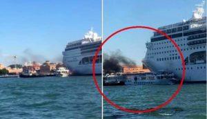 Sono le navi che si devono adattare a Venezia, non Venezia alle navi
