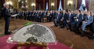 Ventaglio. Grazie al presidente Mattarella per aver ribadito che la libertà di stampa  è fondamentale per la democrazia