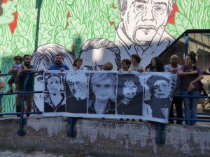 Ostia. Murale stazione Lido Nord: flash mob contro la censura