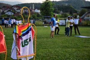Cronache dalla rotta balcanica. La carovana Football No Limits incontra i migranti bloccati a Bihac