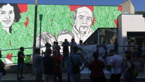 Superate le 30000 firme: cresce l'adesione all'iniziativa, sul web, per chiedere il volto di Federica Angeli sul murale di Ostia
