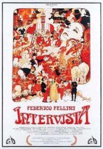 """INTERVISTA, IL FILM IN DIRETTA Atto 2° (trentunesimo capitolo del """"Glossario Felliniano""""). Verso il Centenario della nascita di Federico Fellini"""