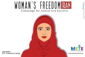 Nasce in Italia la prima campagna per le donne in Iran
