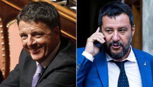 Renzi molla Salvini sul governo istituzionale