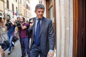 Il Sottosegretario all'Editoria Andrea Martella incontra i giornalisti a Venezia