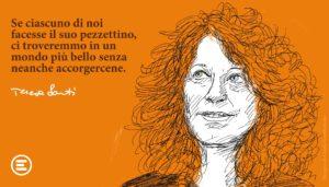 Dieci anni fa ci lasciava Teresa Strada Sarti, fondatrice di Emergency e donna di pace