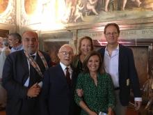 Firenze festeggia i 100 anni di Sergio Lepri