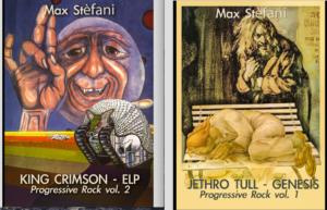 Il rock progressive in due nuovi libri di Max Stèfani