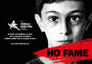 """""""Ho fame"""". Al via la prima campagna di #lavocedeibambini di Fondazione L'Albero della Vita"""