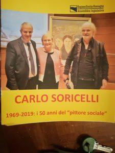 Il dipinto donato al Presidente dei Curdi in Italia