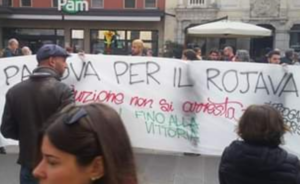 Anche Padova in piazza contro le truppe di Erdogan