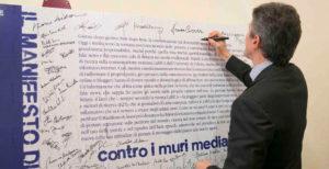 Sottosegretario editoria Martella: faccio mie le parole della Carta di Assisi