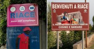 Riace, il sindaco leghista fa rimuovere il cartello che ricorda Peppino Impastato