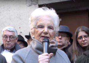 Liliana Segre: la memoria e la speranza