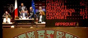 Il voto del Parlamento sulla riduzione del numero dei parlamentari e i sette impegni che lo accompagnano