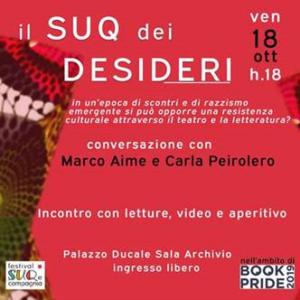 Il Suq dei desideri a Palazzo Ducale di Genova Book Pride 18 ottobre