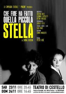 Partita a tre in un interno. 'Che fine ha fatto la piccola Stella?' di Simona Almerini al Teatro di Cestello di Firenze
