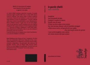 """Eretica edizioni. """"Le parole ribelli"""", la poesia civile di Susi Ciolella"""