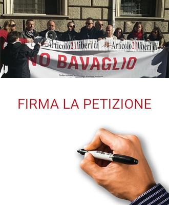 Firma la petizione