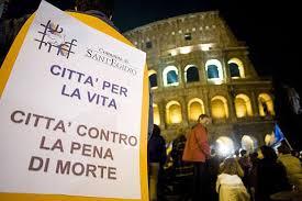 La comunitá di Sant'Egidio contro la pena di morte