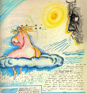 """LIBRO DEI SOGNI ATTO 1° (quarantacinquesimo capitolo del """"Glossario Felliniano""""). Verso il Centenario della nascita di Federico Fellini"""