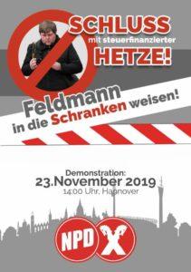 Germania. Odio ad personam. Manifestazione nazista contro i giornalisti