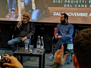 """Presentato da Gigi Proietti il film natalizio e animalista """"Attraverso i miei occhi"""""""