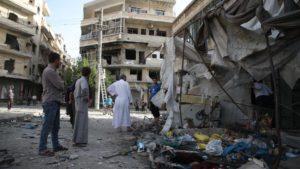Siria. Di Maarat al Numaan i nostri giornali non parlano