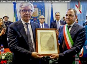 """Torre Annunziata onora Giancarlo Siani, Giulietti: """"Il modo migliore di ricordarlo è non lasciare soli i colleghi"""""""