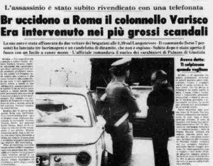 Antonio Varisco, quarant'anni dopo rimane l'interrogativo: perché proprio lui?