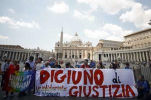 Digiuno di giustizia in solidarietà con i migranti. Roma, 22 gennaio