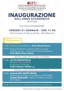 Montefiascone, il 31 gennaio il gesuita Fabrizio Valletti inaugura il nuovo anno accademico dell'università degli educatori