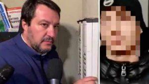 Salvini al citofono: un campionario d'illegalità