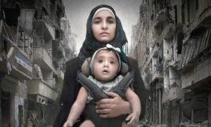 """""""Alla mia piccola Sama"""", una giovane madre di Aleppo documenta cinque anni di rivolta contro Bashar al-Assad"""