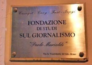 Fondazione Murialdi, il 19 febbraio iniziativa su giornalisti ebrei radiati dal fascismo