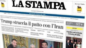 Crisi dei giornali, lotta solitaria della 'Stampa'