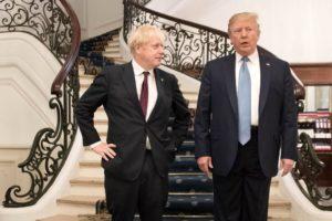 Il sovranista Trump contro il sovranista Johnson