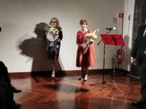 """Mostre. """"Canova. Eterna bellezza"""", omaggio di Milena Vukotic, su testo di Valeria Moretti, ispirata alla Paolina Bonaparte che l'artista scolpì"""