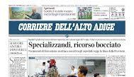 Un caso al Corriere dell'Alto Adige, vicinanza e sostegno del Sindacato regionale