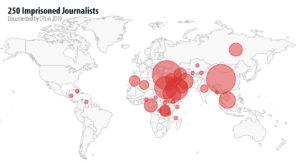 #FreeThePress, parte la campagna mondiale per liberare oltre 250 giornalisti in carcere