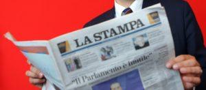 Cdr La Stampa: in edicola e online per miracolo