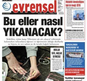 Turchia, appello di Articolo 21 e altre 23 organizzazioni per salvare il quotidiano indipendente Evrensel