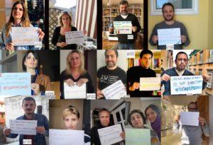 Il sindacato dei giornalisti campani e i messaggi commeventi per la marcia social dedicata a don Peppe Diana