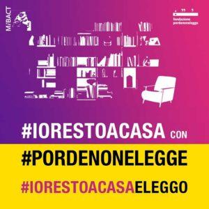 Libri, Pordenonelegge lancia oggi #iorestoacasaeleggo