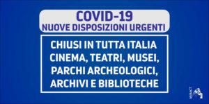 Covid_19 (coronavirus): le reazioni del teatro italiano