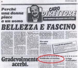 """Editoria. 40 anni fa l'avventura de """"L'Occhio"""""""