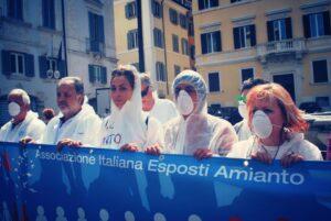 Appello di AIEA ai ministri Speranza e Costa per emergenza lavoratori ex esposti amianto per doppio rischio Covid 19