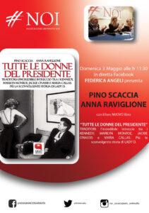 """Noi presenta """"Tutte le donne del presidente"""": Federica Angeli dialoga con Pino Scaccia e Anna Raviglione"""